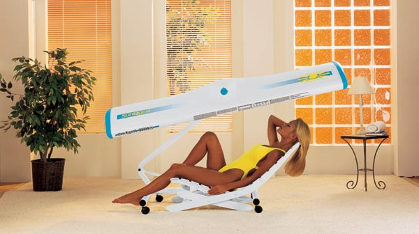 Sunquest Wolff Canopy Tanning Bed